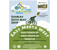 Waterford & Dungarvan Lions Clubs Greenway Leisure Cycle